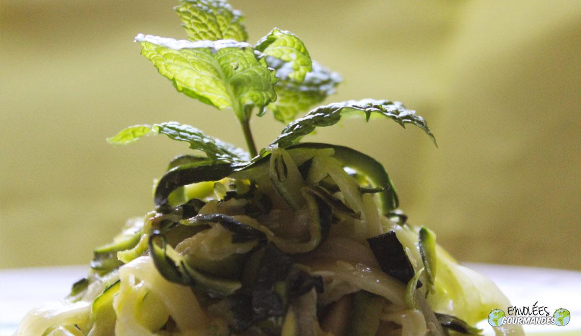 Tagliatelle mit Zucchini
