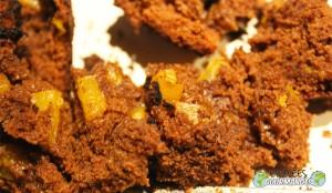 Chocolat-chocolat noir-potiron-vanille-gâteau