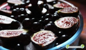 Chou rouge-betterave-oignon rouge-figues-raisins-moutarde