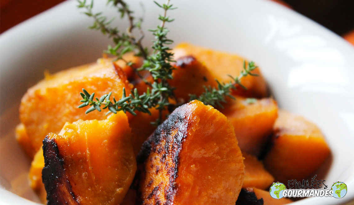 Sweet potato tasty morsels