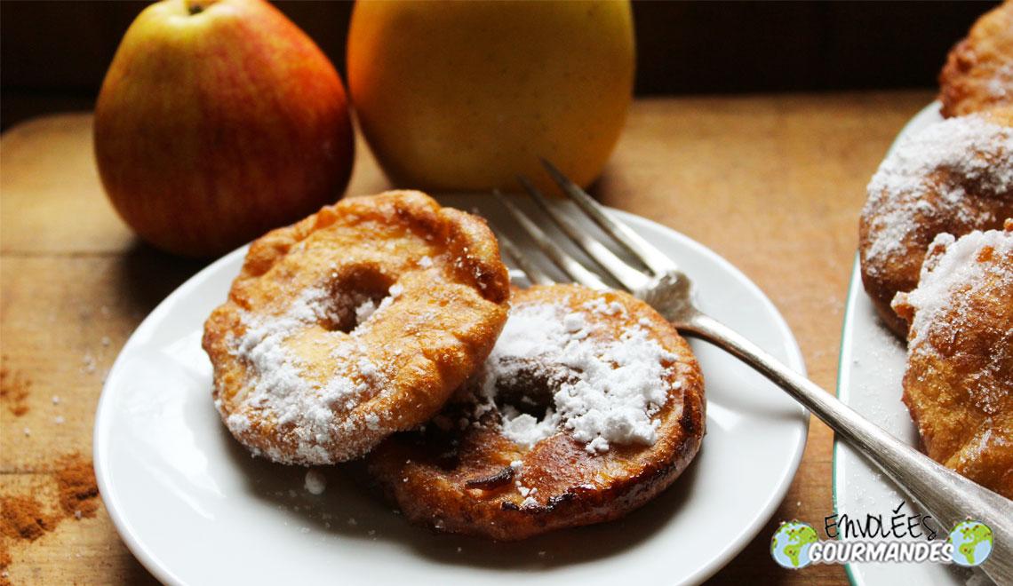 Délices de pommes à la cannelle