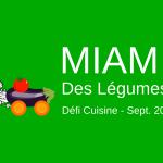 Défi cuisine – Sept 2016