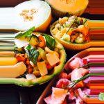 Salades de melons…