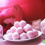 balanceo bola rosa y chantilly