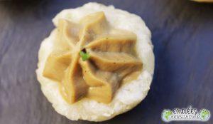 (Sao na Dikwamba)Tartinade soyeuse de safou dans sa coupelle gourmande de manioc