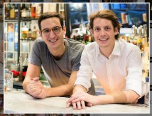 De gauche à droite, Victor Lugger et Tigrane Seydoux.