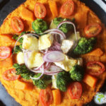 Great tasty pizza sweet potato Mini Caprice
