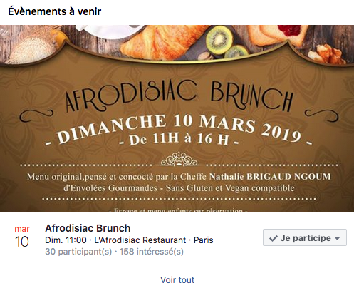 rich News. Appointment on 10 mars 2019 have restaurant l'Aphrodisiac