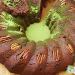 the softest vegetable cake in the world (Missolè cake, plantains and its moringa garnish)