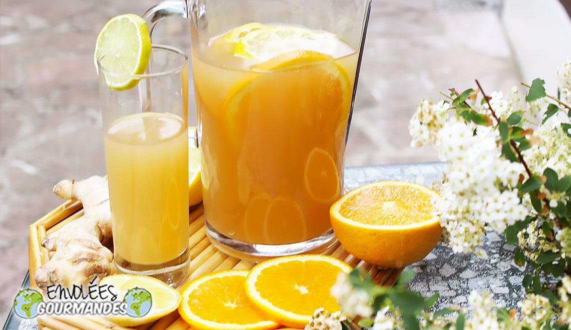 Mboa…  Nectar/jus de gingembre à ma façon 1