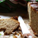 Cake très parfumé, à la ricotta et aux deux farines